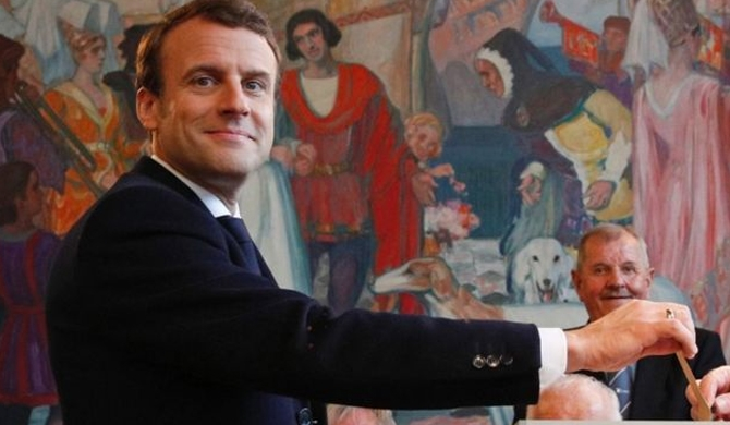 Macron elected French President