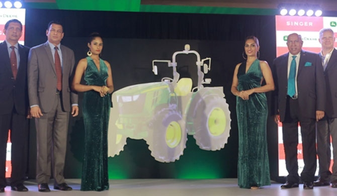 Singer launches John Deere 4WD tractors to SL