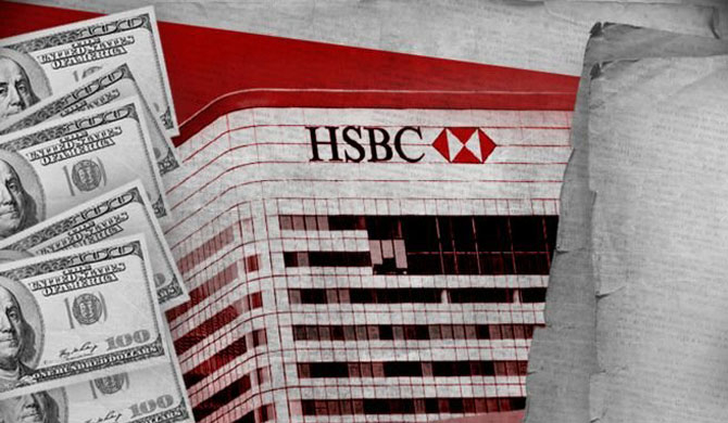 HSBC's shares dive as secret files expose fraud