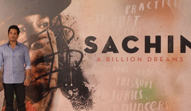 Sachin Tendulkar, 'God of cricket', returns on celluloid