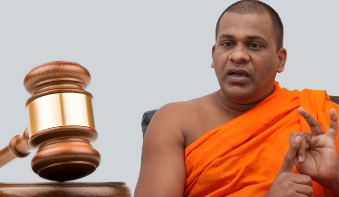 Gnanasara thero ordered in court over contempt charge