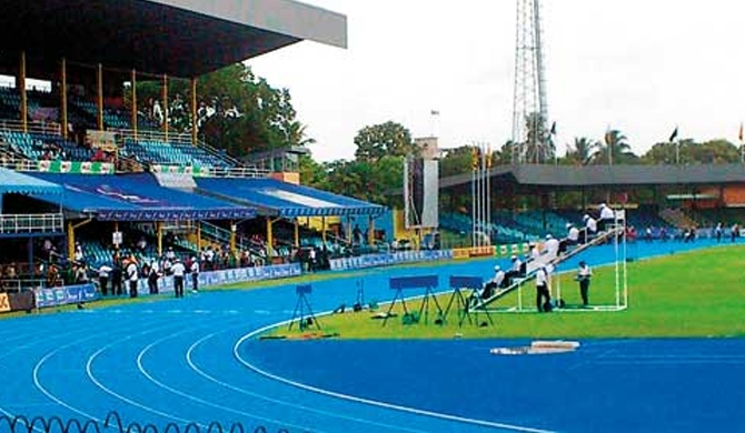 Another Rs. 250 m wasted as Sugathadasa track remains substandard