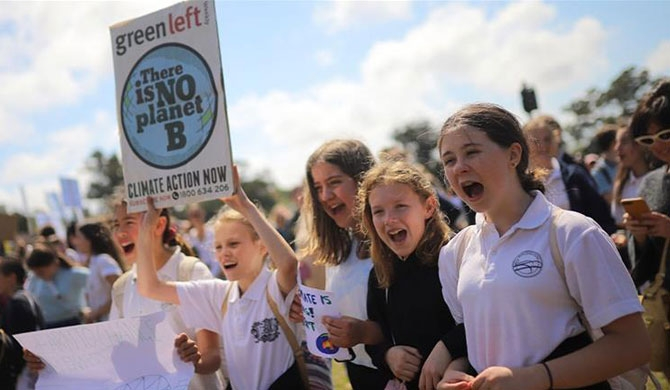 Global day of climate strike action held