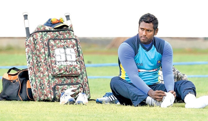 Mathews sidelined for rest of Bangladesh tour