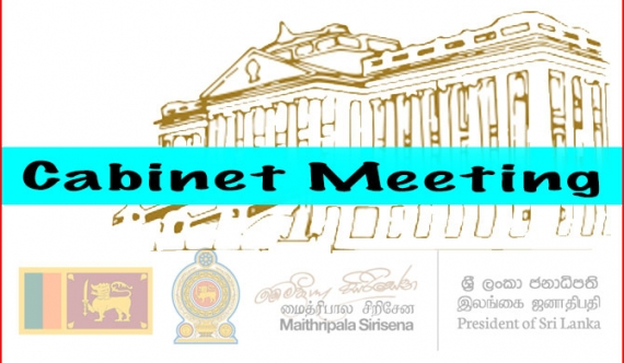 Cabinet to meet today: Over 100 Cabinet papers