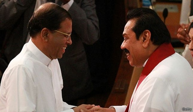 Maithri-Mahinda secret meeting at SB's residence!