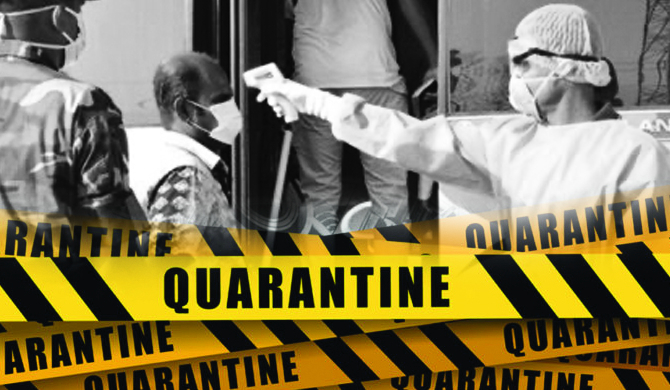 1,441 quarantined after not wearing facemasks