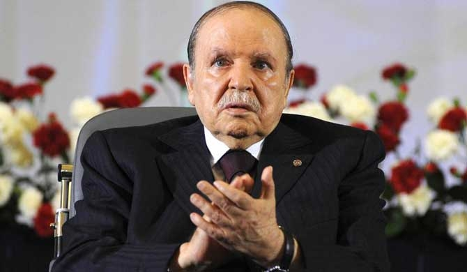 Algeria's president resigns at 82