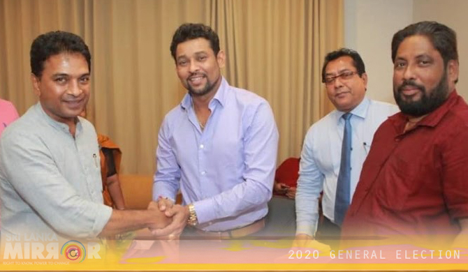 Dilshan too cannot go to Parliament!