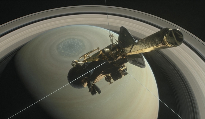 Cassini conducts last picture show