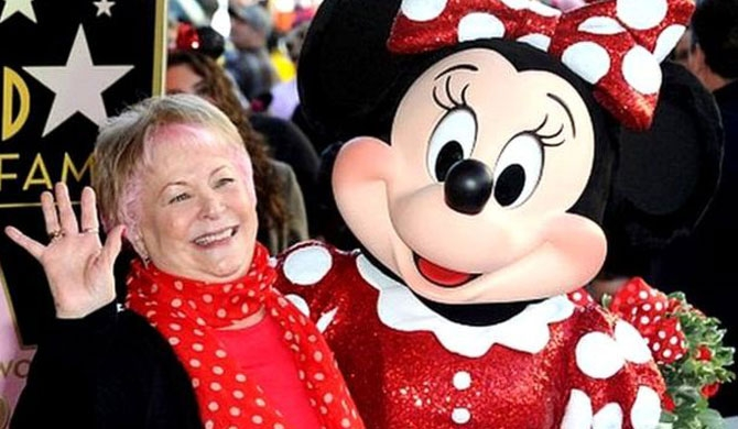 Minnie Mouse voice actress dies aged 75