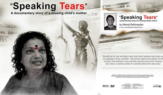 'Speaking Tears' to be screened on Nov. 30