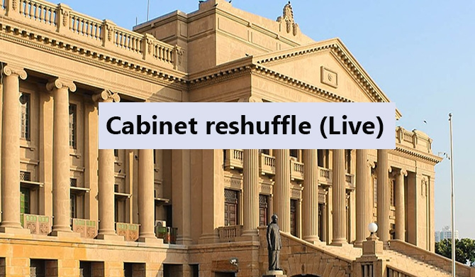 Cabinet reshuffle (Live updates)
