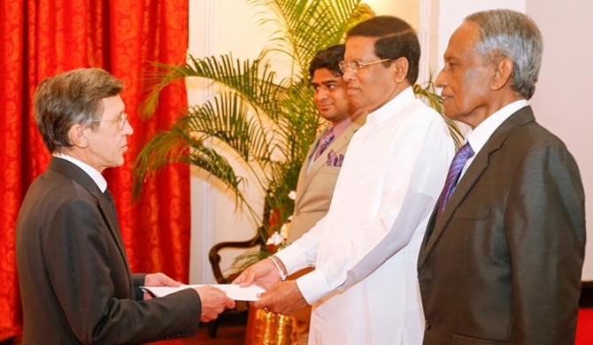Five new diplomats to SL