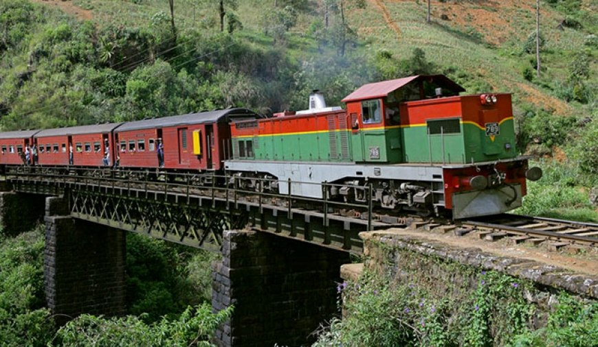 Delays in upcountry railway line