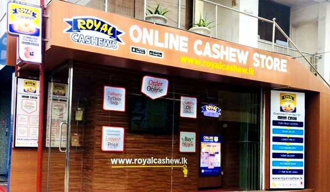 Royal Cashews opens first ever online cashew store in SL