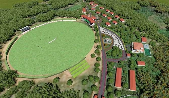 Army to unveil new cricket stadium in Horana (Pics)
