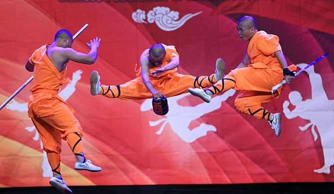 Henan Shaolin Gongfu shows in Colombo tomorrow