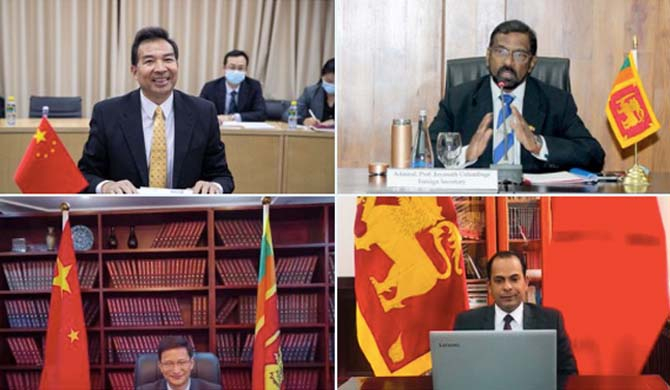SL - China discuss consolidating bilateral relations