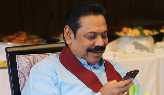Mahinda's assurance for the country and people