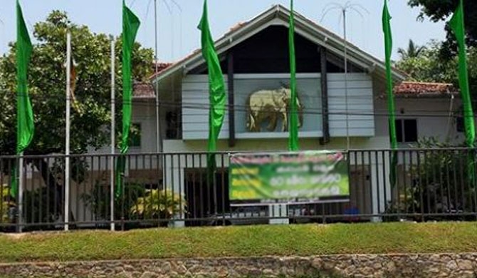 New office for UNP election operations!
