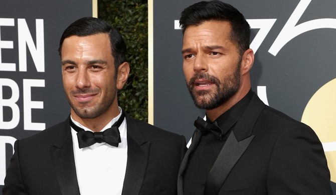Ricky Martin is married