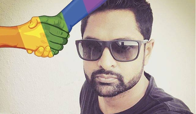 Iraj speaks on gay rights