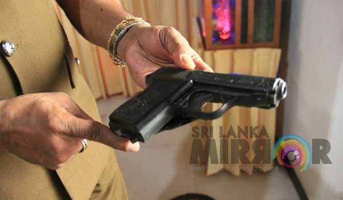 Nainamadama accident : Italian pistol found in car (Pics)