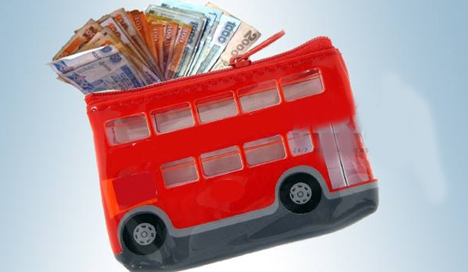 Rupee devalues while bus fares increase!