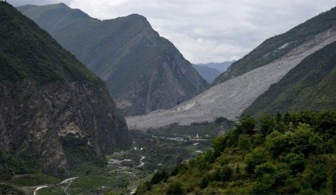 China landslide : 90 missing
