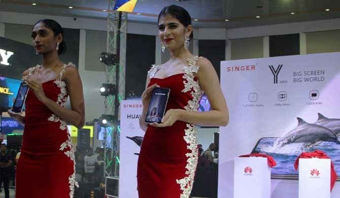HUAWEI launches Y- Max in Sri Lanka (Pics)