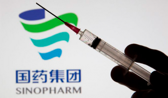 Chinese vaccines will be flown in on Wednesday