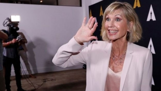 Olivia Newton-John opens up about cancer