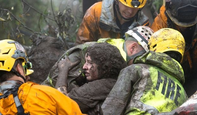 Mudslide victim toll rise to 17