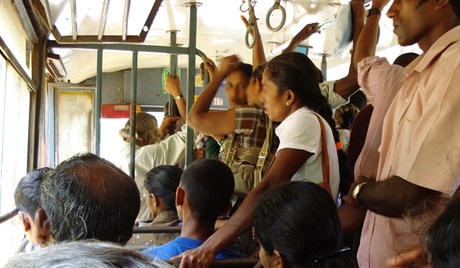 90pc of Sri Lankan women face sexual harassment on public transport