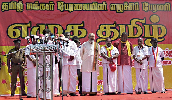 Tamil leader for Muslim autonomy in merged north and east