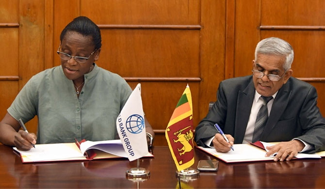 The Loan Agreement was signed by Dr. R H S Samaratunga, Secretary, Ministry of Finance on behalf of the Government of Sri Lanka and Ms. Idah Z Pswarayi – Riddihough, World Bank Country Director for Sri Lanka and Maldives on behalf of the World Bank.