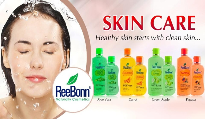 ReeBonn unveils all new face wash range