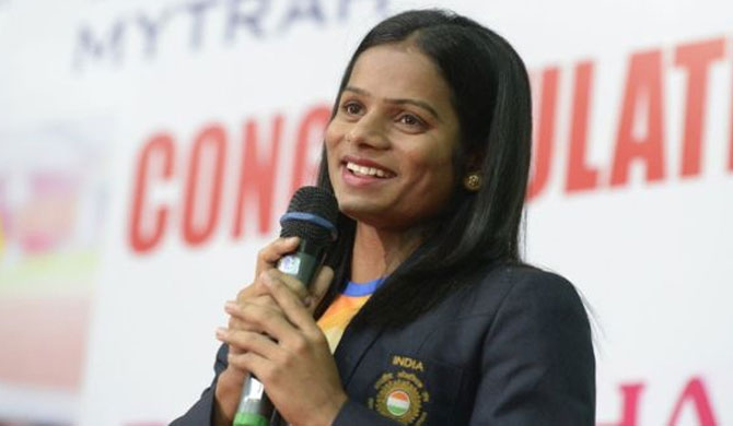 Sprinter becomes first openly gay Indian athlete