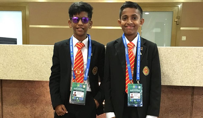 Sri Lankan youngsters in Moscow for F4F programme (Pics)