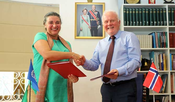 Norway provides $3.5 m for local empowerment