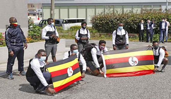 Uganda athlete becomes 1st to be COVID positive at Olympic games in Japan