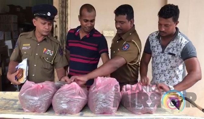 3 remanded for transporting Cannabis to Trinco
