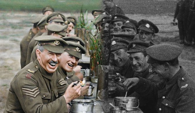 Peter Jackson brings WWI footage to life (Video)