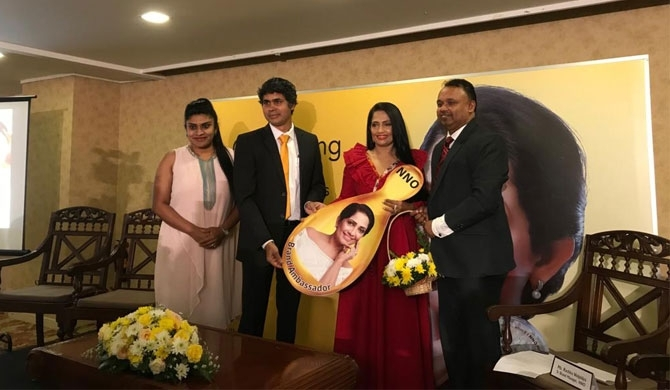 Sabeetha appointed brand ambassador of NNO