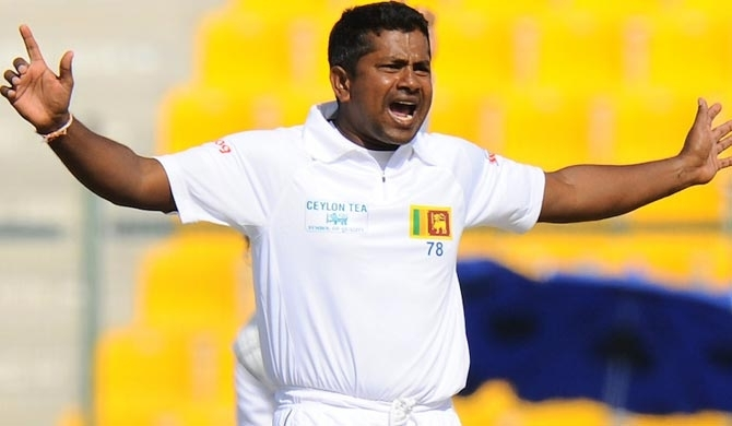 Rangana Herath sets world record