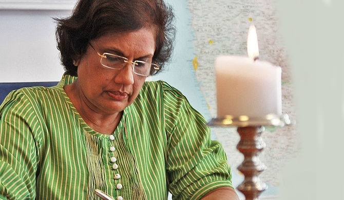 Chandrika to parliament on national list?
