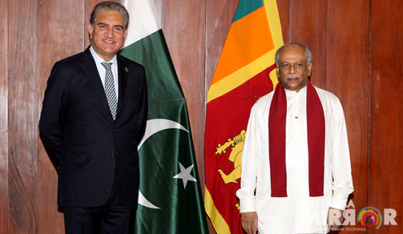 Pakistan Foreign Minister meets SL counterpart