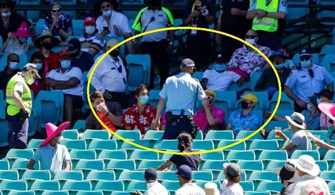 ICC condemns racist abuse by spectators in Sydney