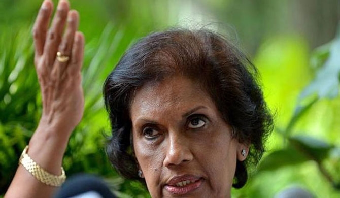 'Will not work with thieves' - Chandrika